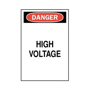 Electrical Labels & Signs
