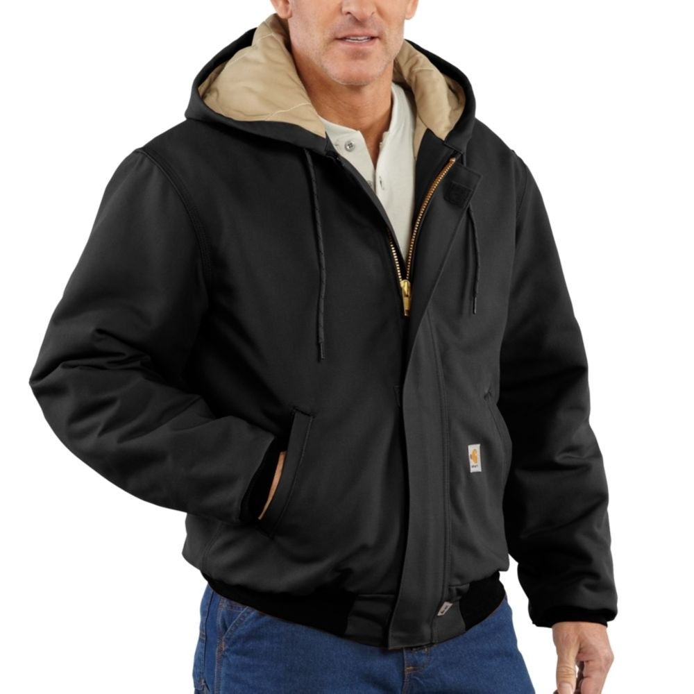 23a94b32f393 Men s Carhartt Flame-Resistant Quilt-Lined Duck Active Jacket ...
