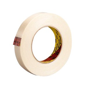 Scotch® 898 Reinforced Strapping Filament Tape, 18 mm W x 60 yd Roll L, 6.6 mil THK, Clear