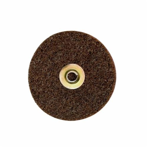 Scotch-Brite™ SC-DN Quick-Change Type TN Surface Conditioning Disc, 5 in Dia, No Hole, Maroon