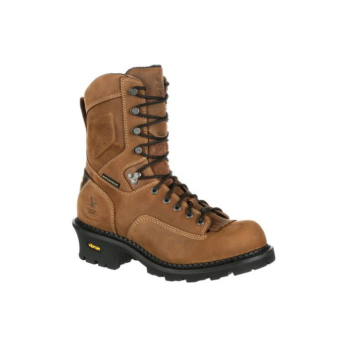 Men's Georgia Boot Comfort Core Logger Composite Toe Waterproof Work Boot