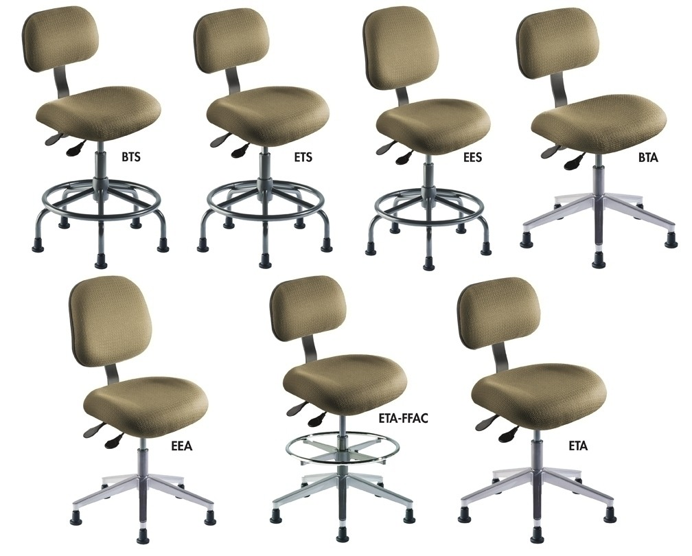 Tremendous Ergonomic Standard Series Chairs Series Bta Upholstery Galaxy Cloth Seat Height Adj 17 22 Feet Casters Ncnpc Chair Design For Home Ncnpcorg