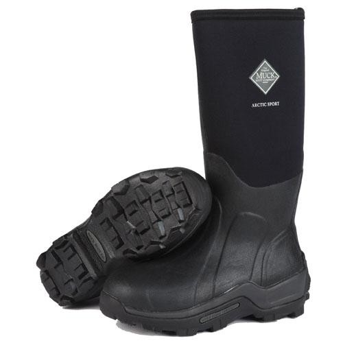 Muck Arctic Sport Steel Toe High Performance Black Work Boot