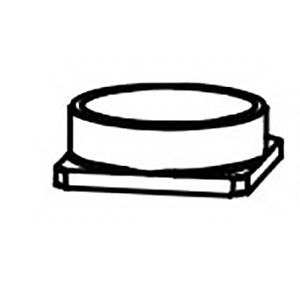 Dynabrade® 15314 Air Control Ring, For Use With Dynafile® III 15300 Abrasive Belt Tool