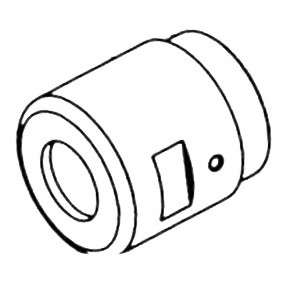 Dynabrade® 53186 Planetary Housing, For Use With 52104 Straight-Line Die Grinder