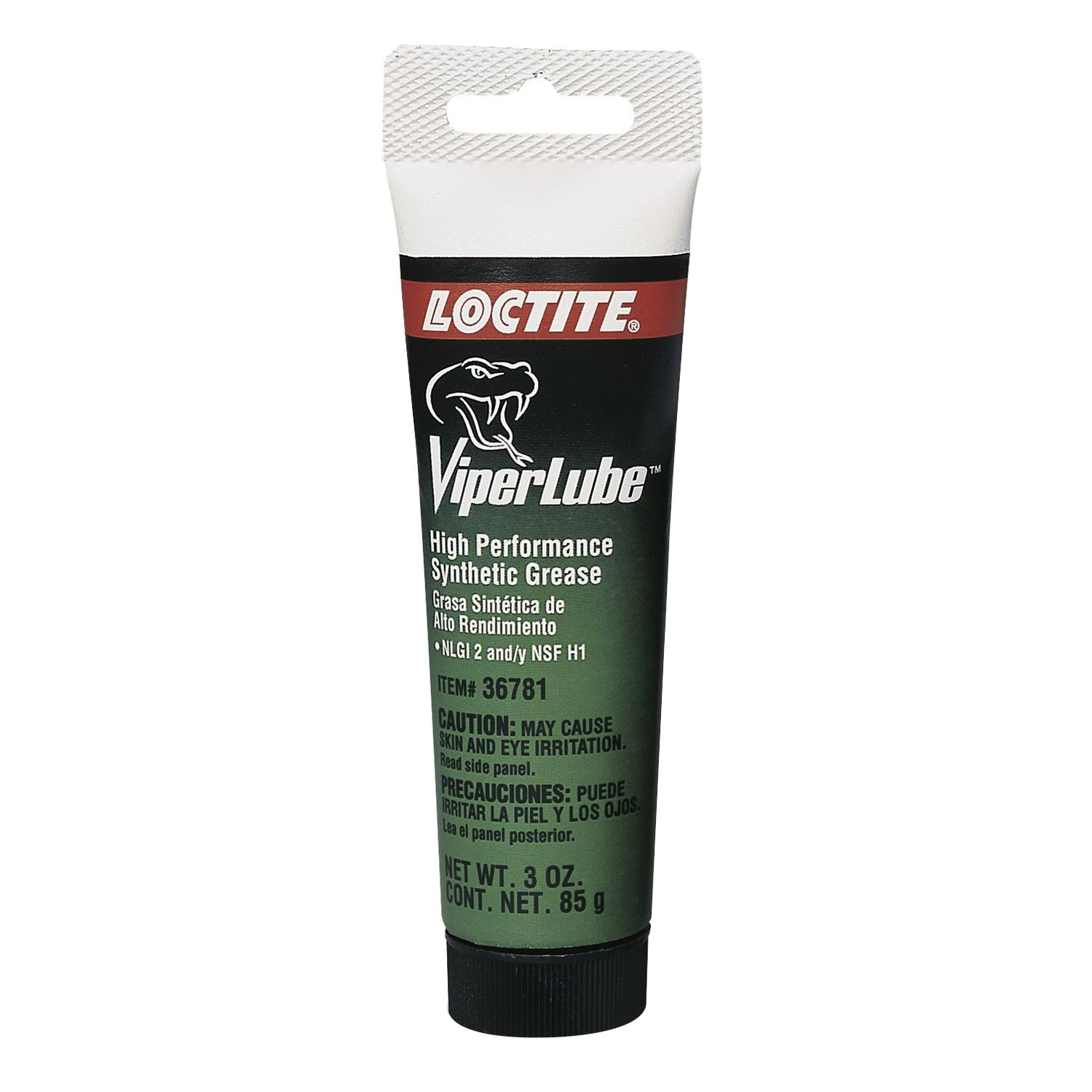 Loctite® 36781 High Performance Synthetic Grease, 3 oz Tube, Semi-Solid, White, -40 to 500 deg F