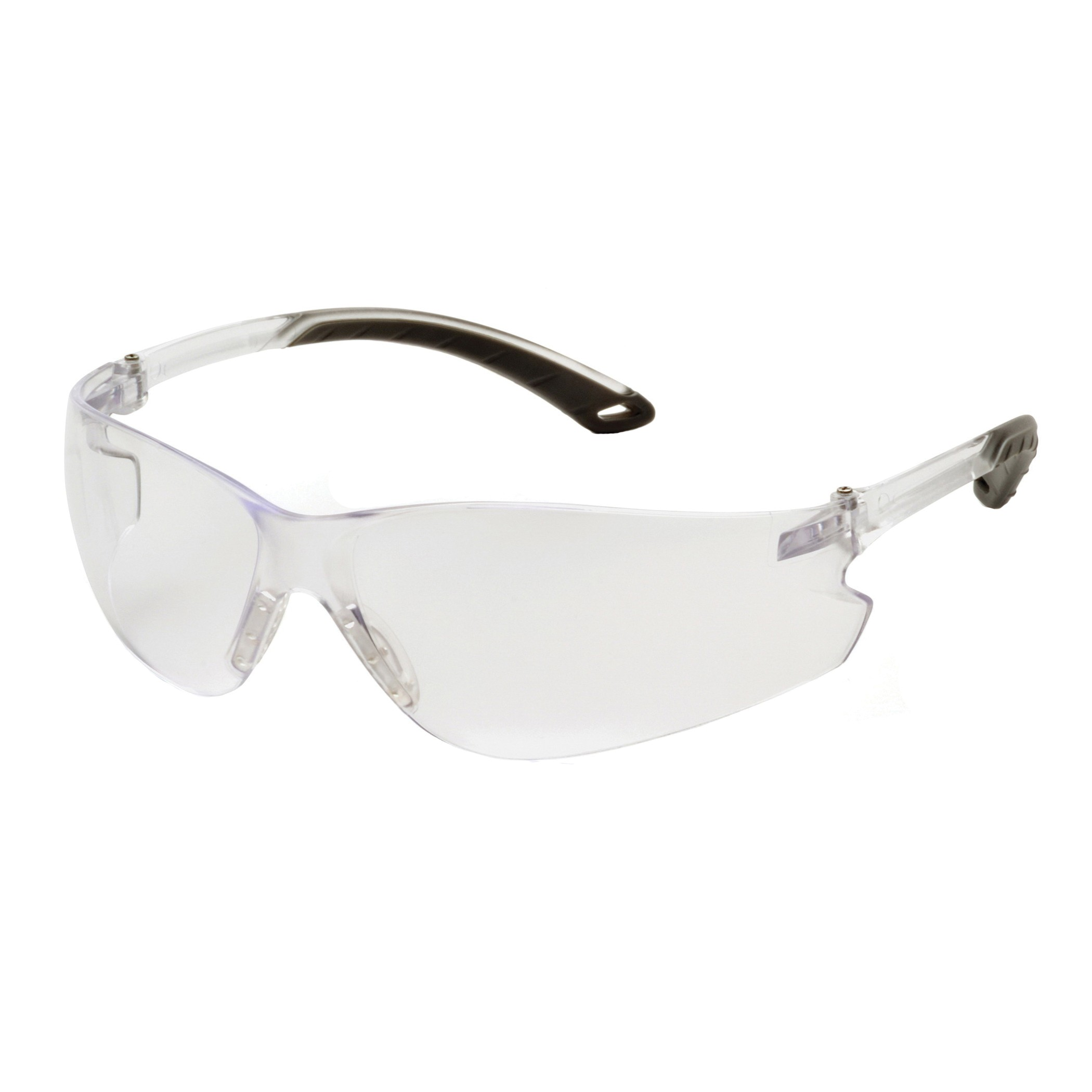 Pyramex® S5810S Light Weight Protective Glasses, Universal, Frameless, Scratch-Resistant Clear Lens