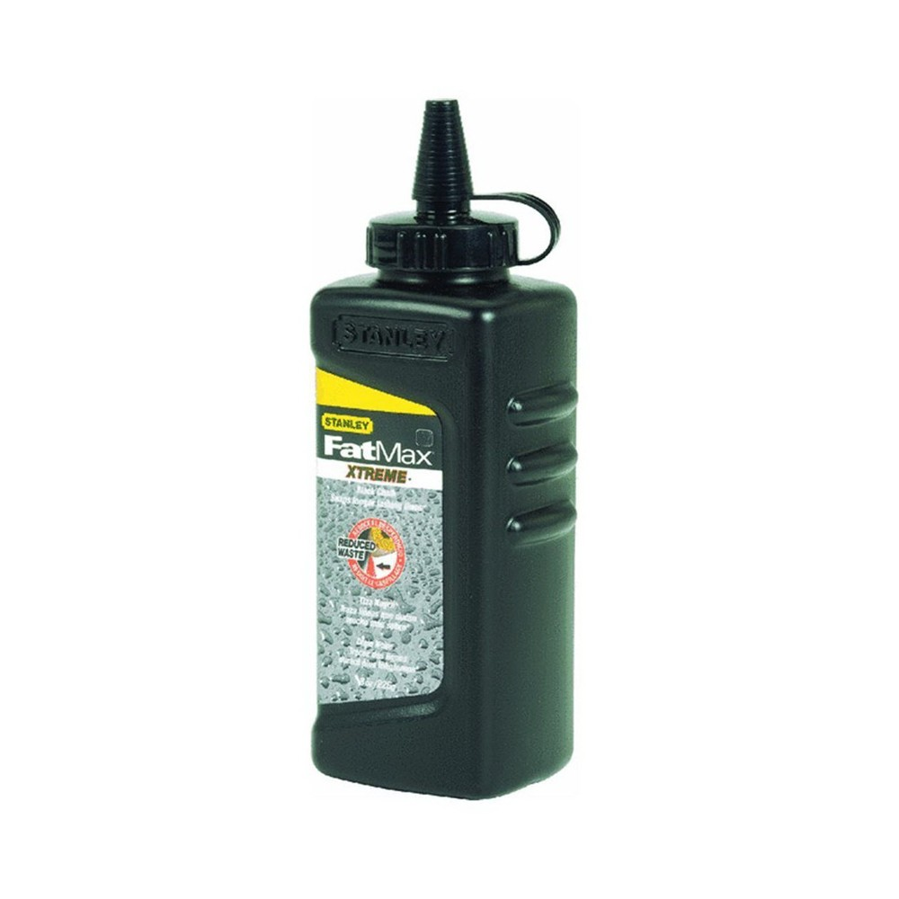 Stanley® FatMax® Xtreme® 47-822 Chalk Refill, Black, 8 oz, Container