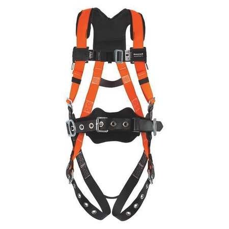 Miller™ T4577/UAK, Titan II Non-Stretch Full Body Harness w/ Shoulder Lumbar Pad, Side D-Ring, Waist Belt, Belt Loop, L/XL