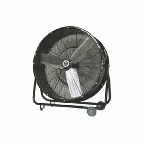 TPI CPBS30D Direct Drive Standard Portable Blower, 120 VAC, 1/3 hp, 4400 cfm High, 3800 cfm Low, 30 in Aluminum Propeller, Import