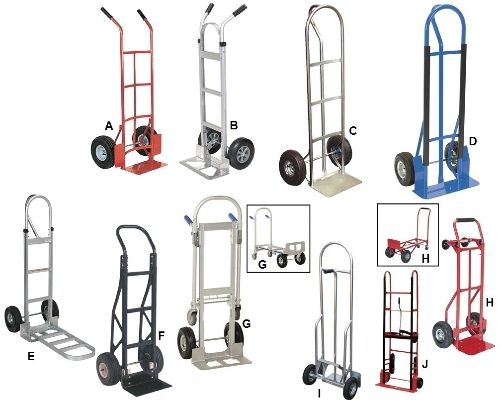 heavy duty hand trucks ltr no h steel convertible cap - Heavy Duty Hand Truck