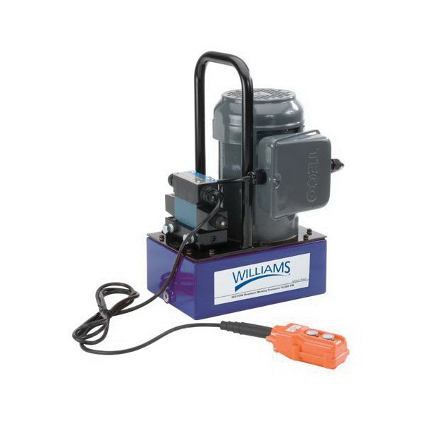 Electric Hydraulic Pump >> Williams 5es15h5g Electric Hydraulic Pump With 5 Gal 3 Way 3