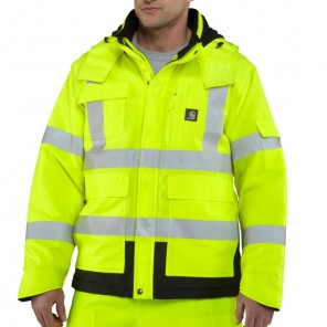 Men's Carhartt High-Visibility Class 3 Waterproof Sherwood Jacket