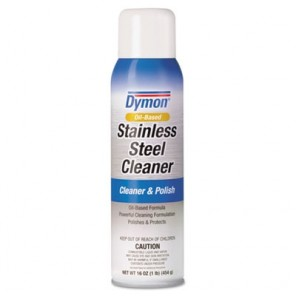 Dymon® 20920 Stainless Steel Cleaner, Aerosol, 16 oz, 12/Case