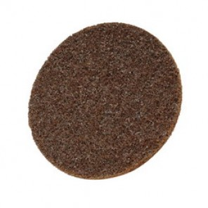 Scotch-Brite™ SC-DH Hook and Loop Surface Conditioning Disc, 7 in Dia, No Hole, Aluminum Oxide Abrasive