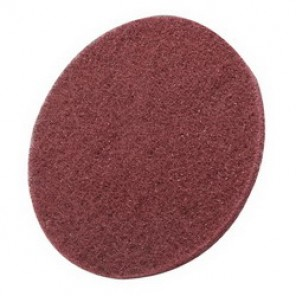 Hookit™, Scotch-Brite™ PR-HA Hook and Loop Cleaning and Finishing Disc, 6 in Dia, No Hole, Maroon