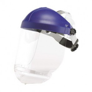 3M™ HCP8 Faceshield Headgear, For Use With AOTuffmaster® Faceshields, Ratchet Suspension, Thermoplastic, Blue
