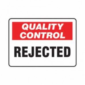 Accuform® MQTL713VS Safety Sign, 7 in H x 10 in W, 4 mil Adhesive Vinyl