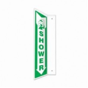Accuform® PSP438 90D Projection Sign, 18 in H x 4 in W, 0.10 in Plastic