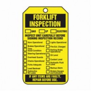 Accuform® TRS305CTP Flexible Safety Tag, 5-3/4 in H x 3-1/4 in W, PF-Cardstock