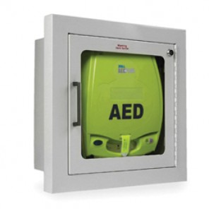 Zoll AED® Plus 8000-0811 Fully Recessed Wall Defibrillator Storage Cabinet