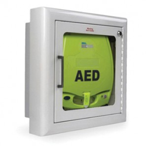 Zoll AED® Plus 8000-0814 Semi-Recessed Wall Defibrillator Storage Cabinet