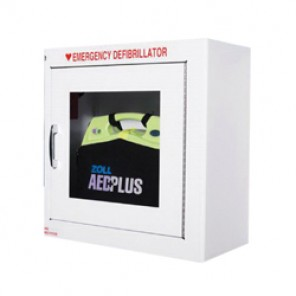 Zoll AED® Plus 8000-0855 Wall Mount Defibrillator Storage Cabinet