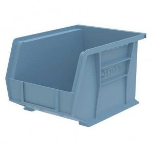 AkroBins Plastic Storage Hanging And Stacking Bin 30239LTBLU, Light Blue