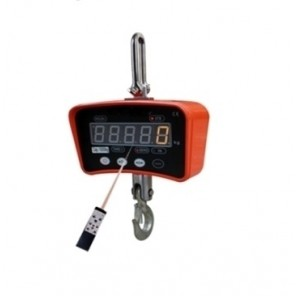 "AL-OCSM1 SERIES LIGHT CAPACITY CRANE SCALE, Capacity/Readability: 200 lb. x 0.1 lb. 100 kg. x 0.05 kg., Length: 13.78"", Hook Opening: 0.94"""