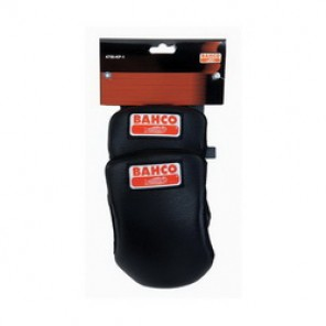 Bahco® 4750-KP-1 Anti-Slip Heavy Duty Knee Pad, 7 in H x 4 in W, Synthetic Leather with Rubber, Hook and Loop Closure