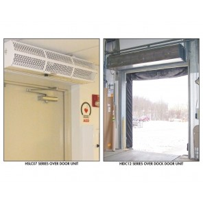 BERNER AIR CURTAINS, Series: Industrial Air - 120/1 Voltage, Max Door Size W x H: 7' x 12', Motor HP: 42737, No. of Motors: 2, Total Motor Amps: 13, Max. CFM@ Nozzle: 10085, Unit Size W x D x H: 87 x 18 x 15""