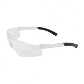 Bouton® 250-06-0020 Light Weight Protective Glasses, Universal, Rimless Clear Frame, Anti-Fog Clear Lens