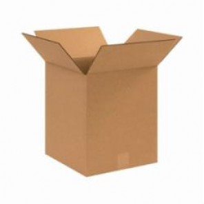 "12 x 12 x 14""  Corrugated Boxes, 25 Per Bundle"