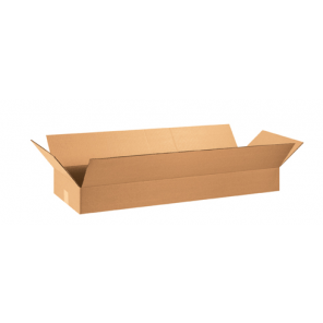 "36 x 12 x 4""  Flat Corrugated Boxes, 20/Bundle"