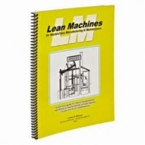Brady® 113242 Training Book, English, Lean Machines for World-Class Manufacturing and Maintenance