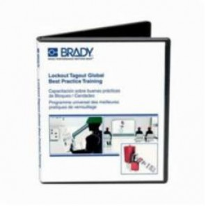 Brady® 132427 Global Training Video USB, English/Spanish/French/Portuguese/Simplified Chinese, 25 min, Lockout Tagout
