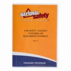 Brady® 51454 Lockout Training Material, VHS Video Program, English, Provides Comprehensive Introduction to the Key Components of an Effective LOTO Program