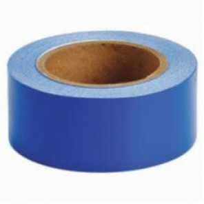 Brady® 55262 Solid Pipe Banding Tape, 30 yd H x 2 in W, 2 Markers per Card, Blue, B-946 Vinyl