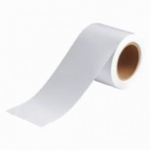 Brady® 91433 Solid Pipe Banding Tape, 30 yd H x 4 in W, 2 Markers per Card, White, B-946 Vinyl