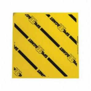 Brady® 96228 Spill Magnet™ Magnetic Drain Cover, 18 in L x 18 in W, Vinyl, Black on Yellow