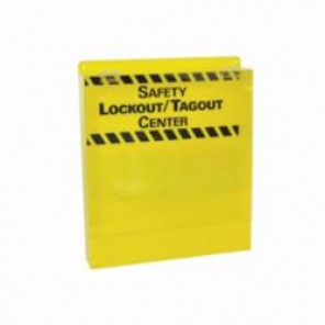 Brady® Prinzing® LC233E Large Lockout Tagout Center With Door, Unfilled, 17 in H, Acrylic