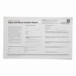 Brady® Prinzing® OR301E Right-To-Know Form, Black on White