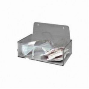 Brady® Prinzing® PD205A Dispenser Tray Without Lid, Wall/Table Top Mount, Clear, Acrylic Glass