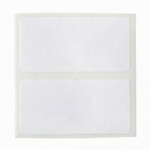 Brady® THT-17-533-3 CleanLift® Removable Printer Label, 2 in L x 1 in W, White, B-533 Polyester