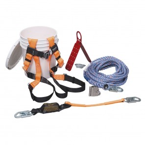 Miller™ BRFK50-Z7/50FT, Titan ReadyRoofer Fall Protection Kit, 50 ft.