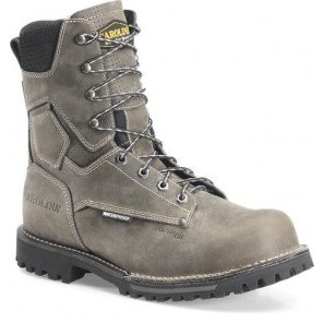 "Men's Carolina 8"" Waterproof Comp Toe Work Boot CA8532"