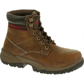 "Women's Cat Dryverse 6"" Waterproof Steel-Toe Work Boot"