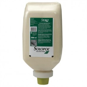 STOKO Solopol® Solvent-Free Heavy-Duty Hand Cleaner 2000ML, 6 Bottles per Case