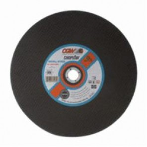 CGW® 35575 Type 1 Double Reinforced General Purpose Straight Cut-Off Wheel, 12 in Dia x 3/32 in THK, 1 in, 36P Grit, Aluminum Oxide Abrasive