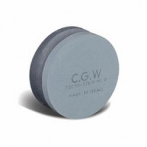 CGW® 35902 Round Combination Dressing Stone, 4 in Dia, 1-1/2 in L